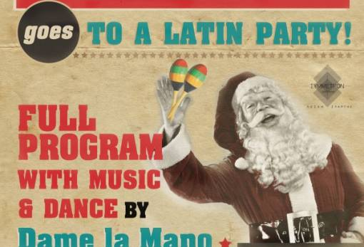 Santa goes to a Latin Party