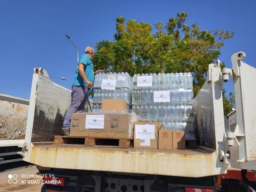 "<b>Navigation tip:</b> Hover mouse on top of the right or left side of the image to see the next or previous image respectively.<br /><br />You are browsing images from the article:<br /><span class=""sigProPopupCaption"">Ο Δήμος Μονεμβασίας δίπλα στους πλημμυροπαθείς της Καρδίτσας</span>"